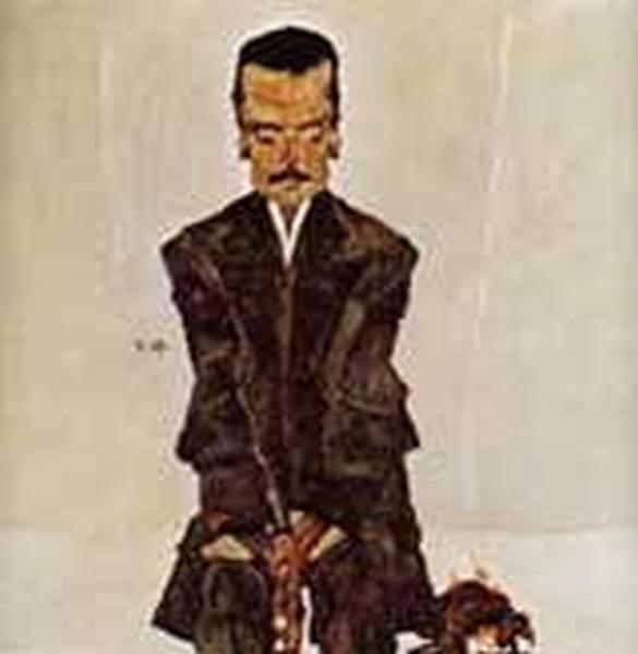 Portrait of the Publisher Eduard Kismack 1910